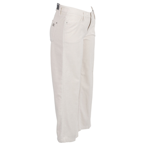CAMBIO - Cord-Hose -Phillipa- Culotte off-white